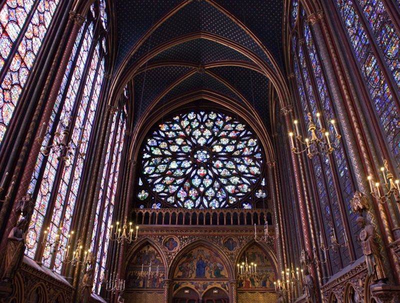 rosone-saintechapelle-interno