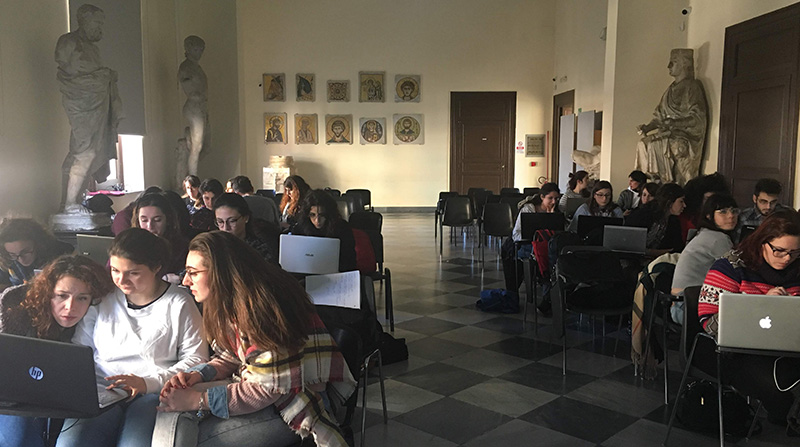 durante il workshop