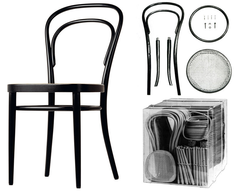 vi racconto la thonet. Black Bedroom Furniture Sets. Home Design Ideas