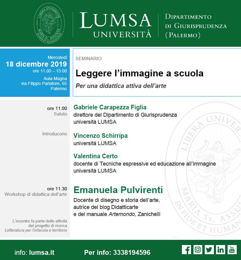 seminario - Palermo 18/12/2019