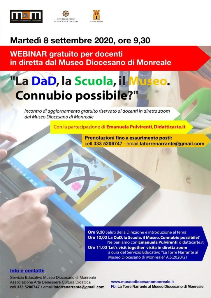 webinar - Monreale 08/09/2020