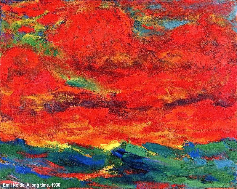 Risultato immagini per quadri in cui prevale il rosso