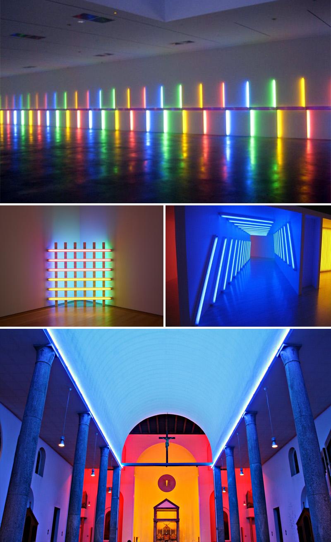 Quale Luce Per Studiare l'immateriale che diventa arte: le opere di luce